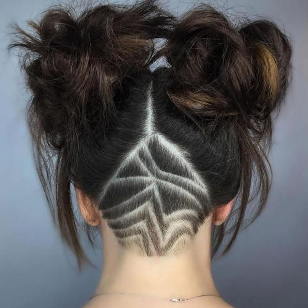 Undercut Haircut Combover Sidepart Hardpart With Hair Design