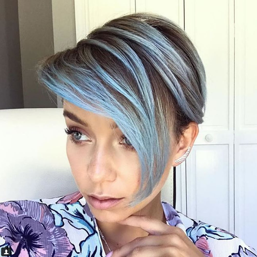 Short Highlighted Hairstyles 2018 Hairstyles