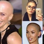 Bald hairstyles & headshave for women 2018-2019