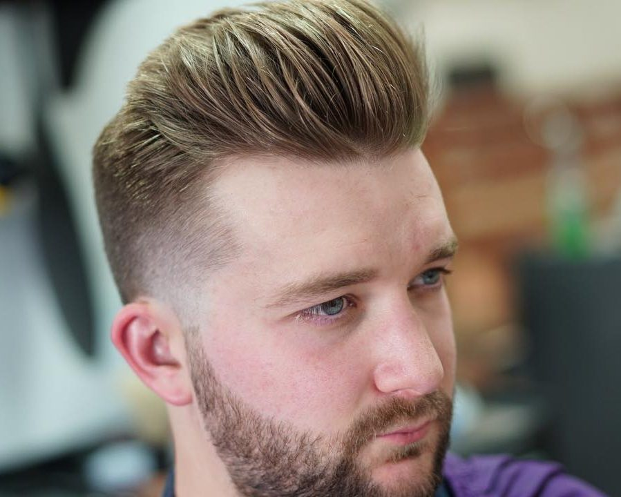 Fine Hair Pompadour 2018 2019 Hairstyles