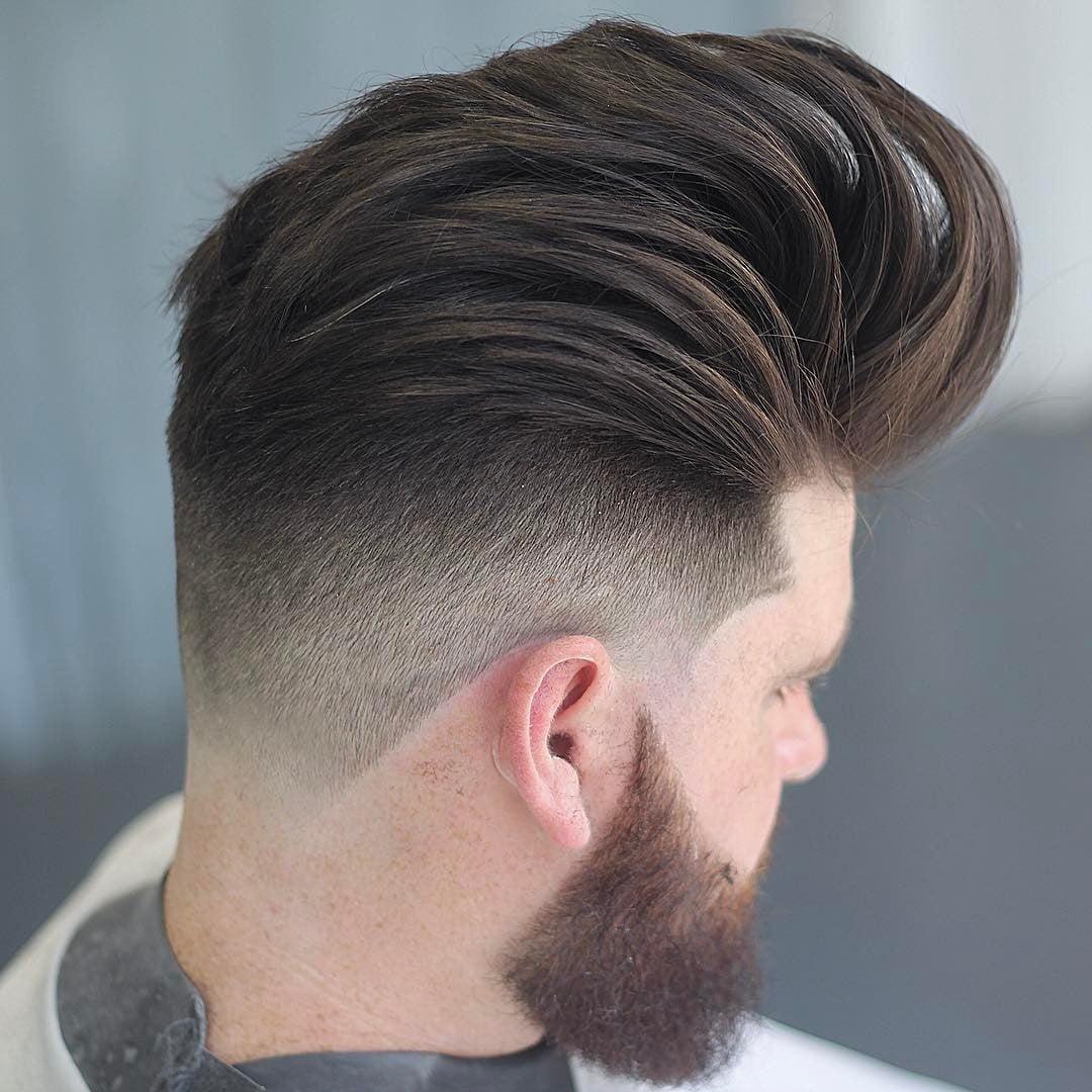 Pompadour Hairstyles Haircuts For 2018 Viral 21 Pomp Hair Ideas