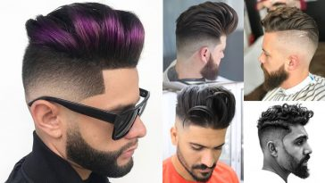 Pompadour Haircuts for 2018