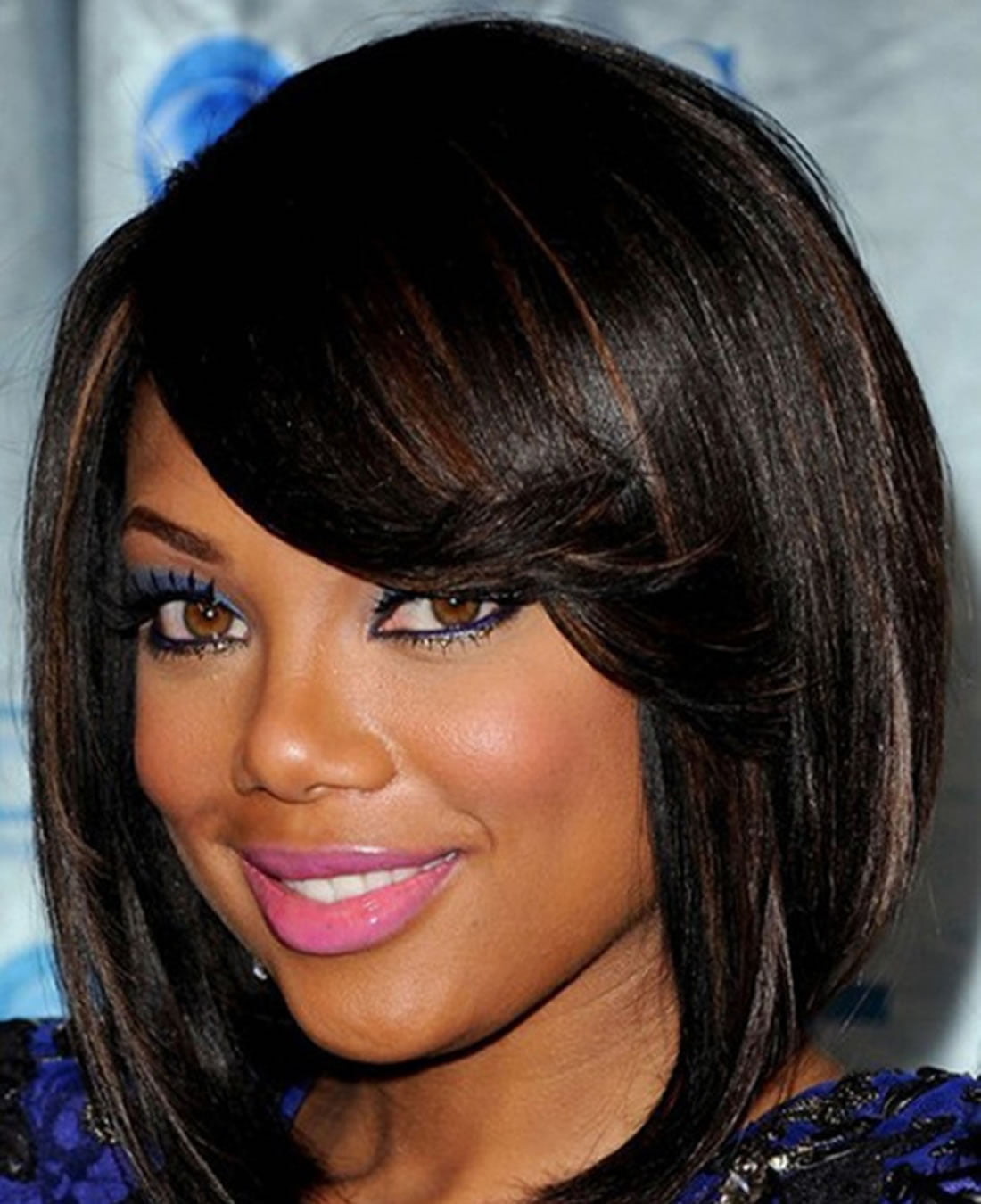 Short African American Hairstyles for Round Faces 2018-2019