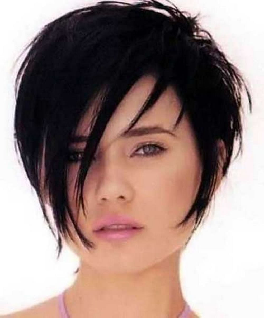 Short Haircuts for Round Face Thin Hair ideas for 2018 - Page 4 - HAIRSTYLES