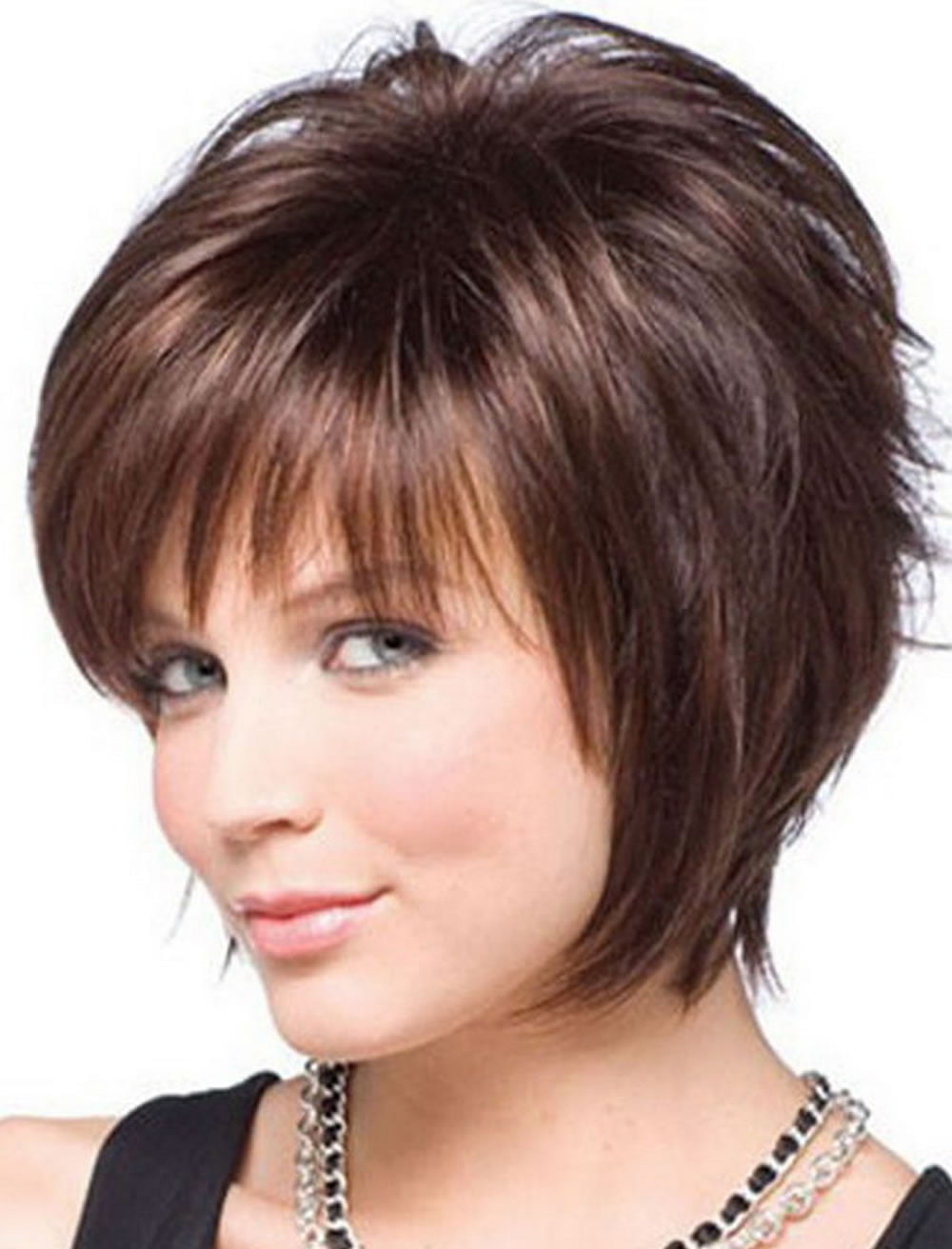 Short Haircuts for Round Face Thin Hair ideas for 2018 - Page 2 - HAIRSTYLES