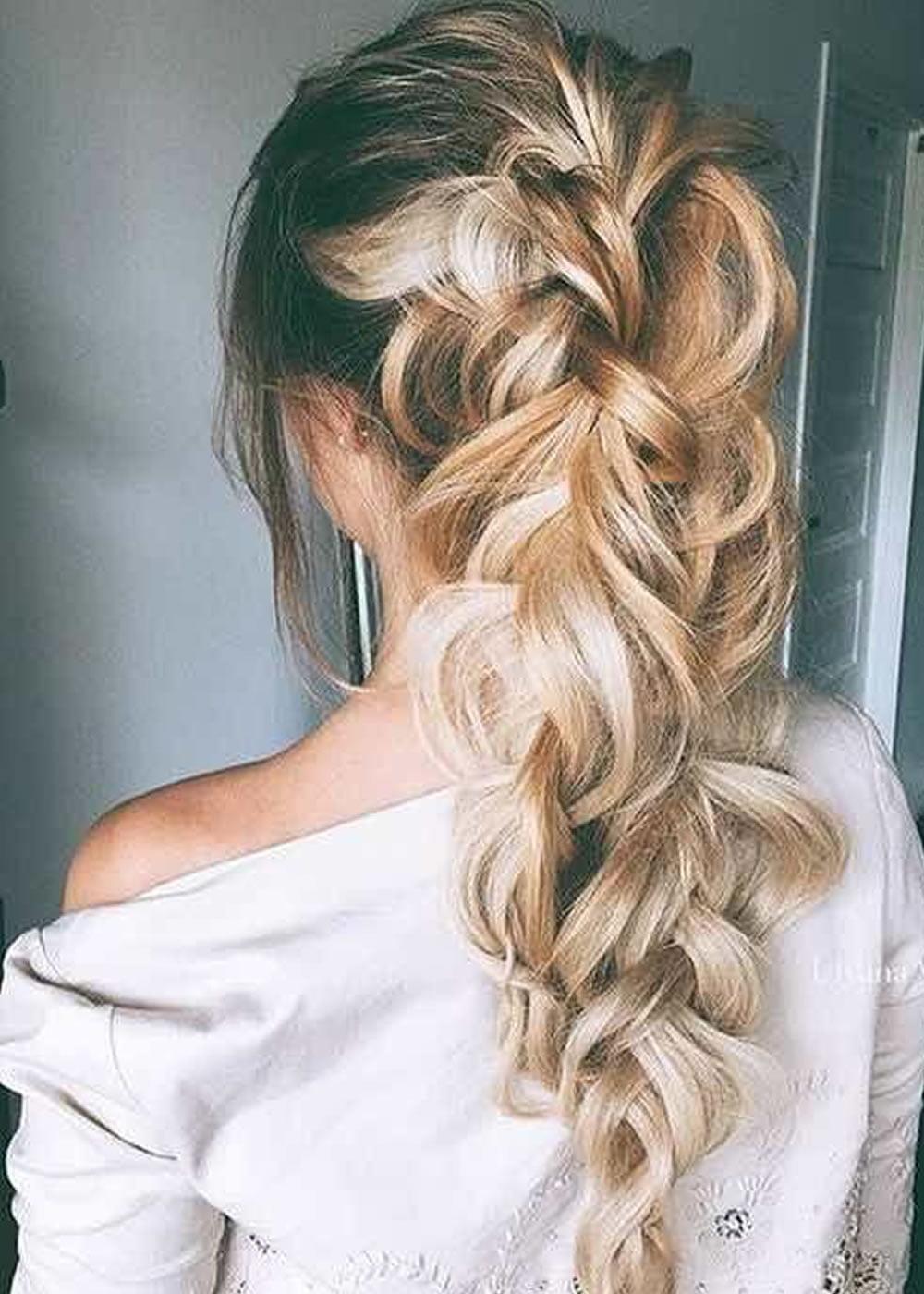 25 Very Stylish Soft Braided Hairstyles ideas 2018-2019 ... - photo #12