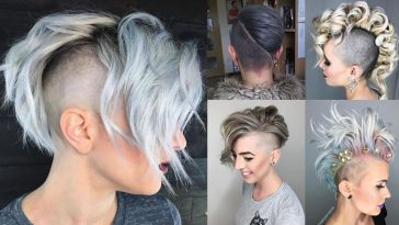 Undercut Hair Designs for Female Hairstyles 2018-2019