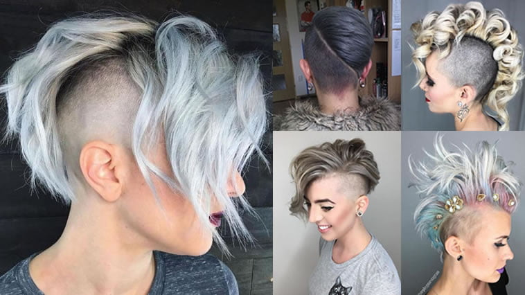 Undercut Hair Designs for Female Hairstyles 2018,2019