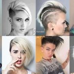 Undercut Short Bob Hairstyles and Haircuts for 2018-2019