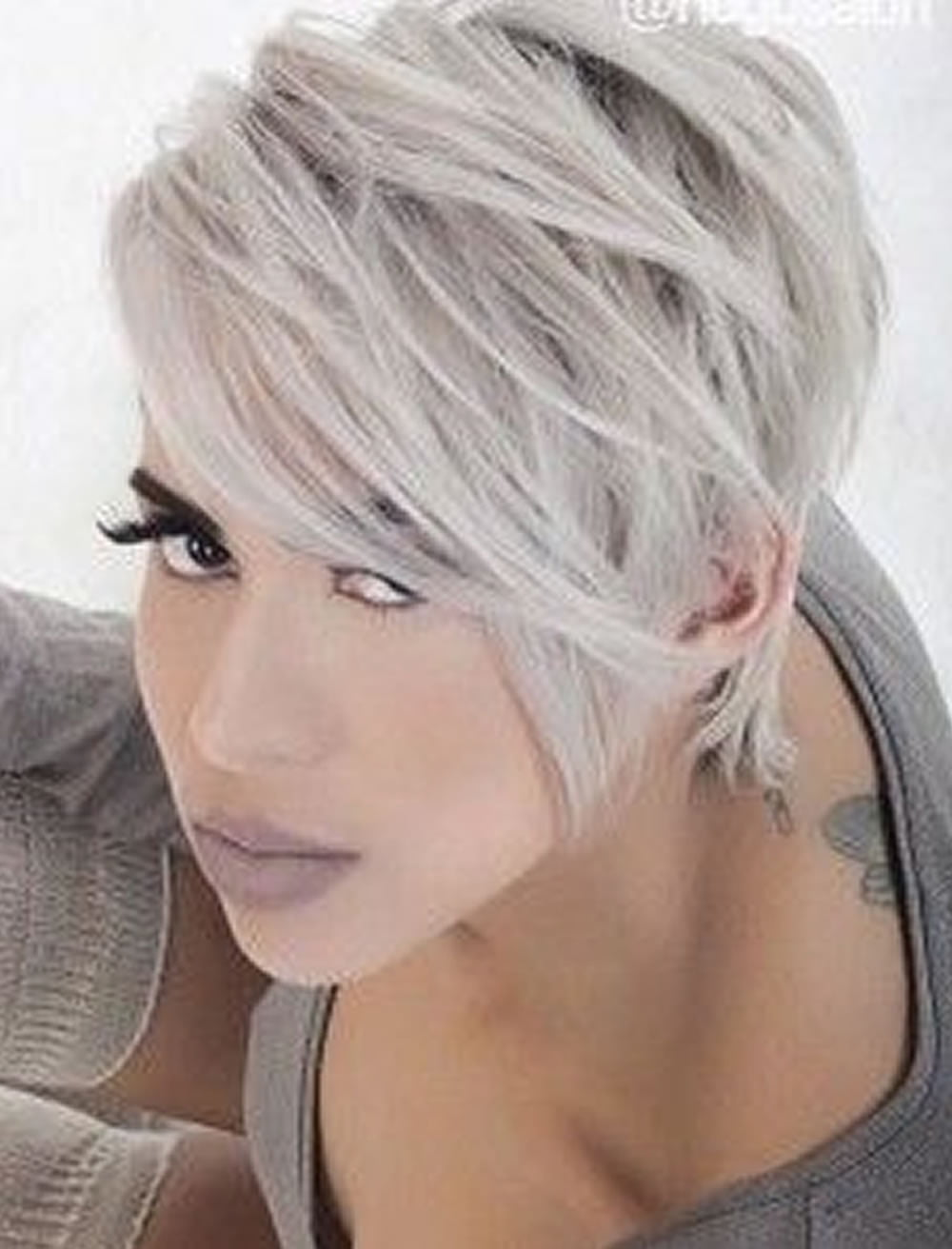 2018 Undercut Short Bob Hairstyles And Haircuts For Women