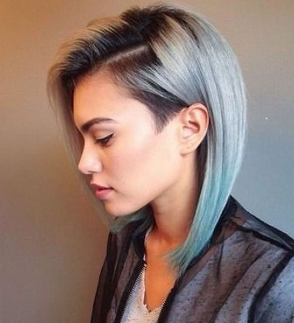 2018 Undercut Short Bob Hairstyles and Haircuts for Women ...