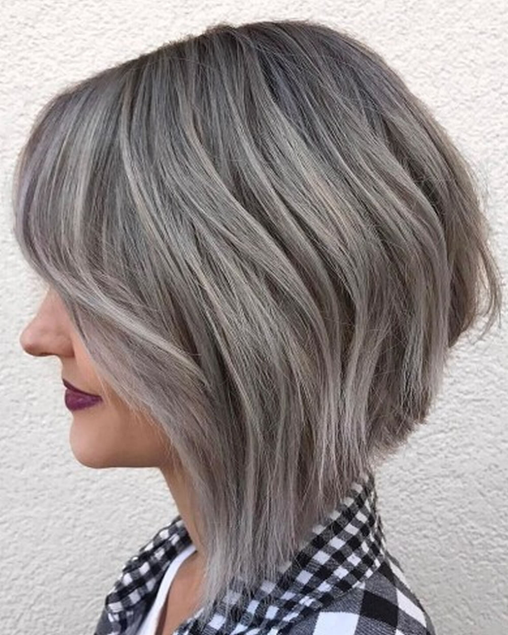 asymmetrical short haircuts with balayage highlights 2018 – 2019