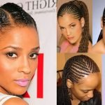 Cornrow hairstyles for black women natural hair 2018-2019