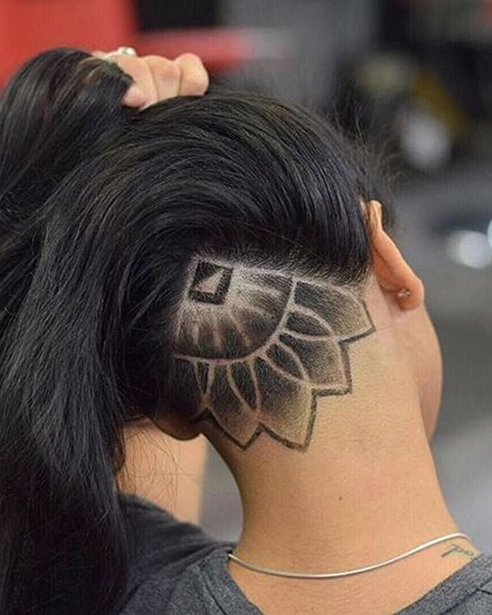 Nape Shaved Design Women For 2018 Best Nape Haircut