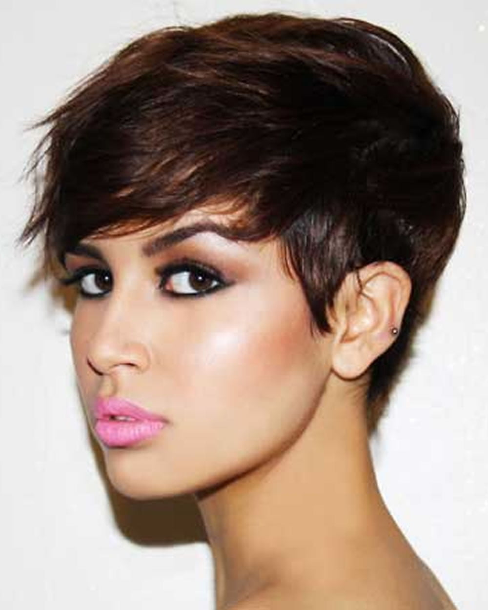 Short Haircuts And Make Up Preferences For 2018 2019