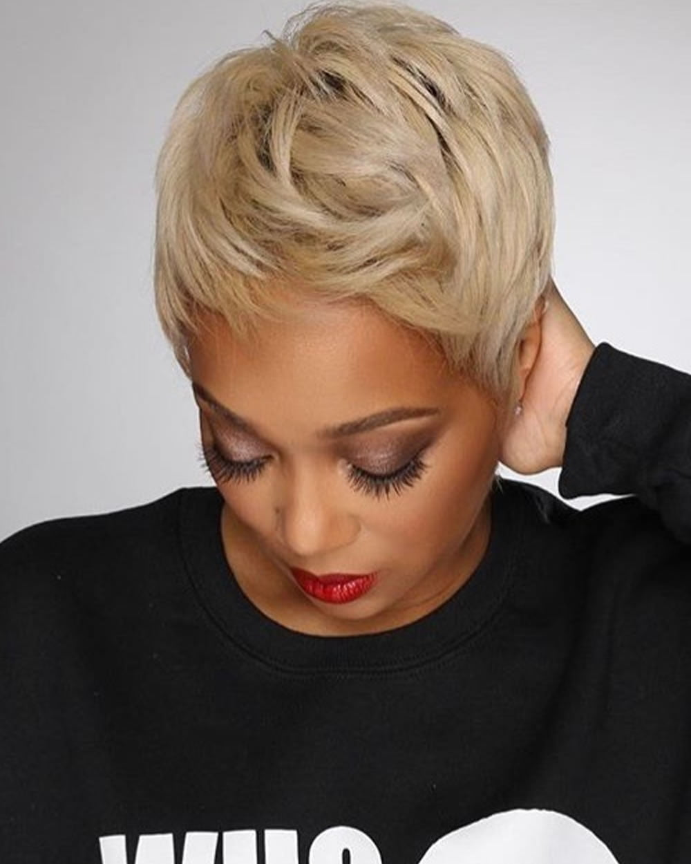 Short Haircuts for Black Women Over 40 with Fine Hair ...