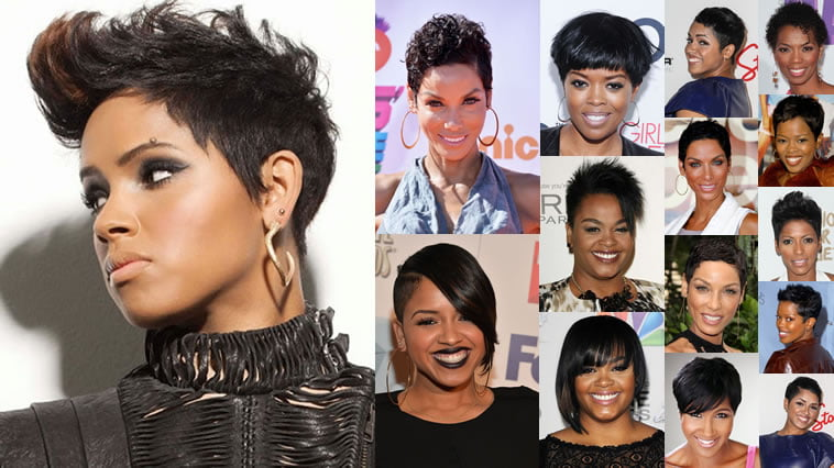 37 Wedding Hairstyles For Black Women To Drool Over 2017: Short Pixie Black Hairstyles 2018