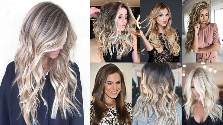 2018 Hairstyle For Dark Hair Color: 2018 Balayage Hairstyles For Long Hair