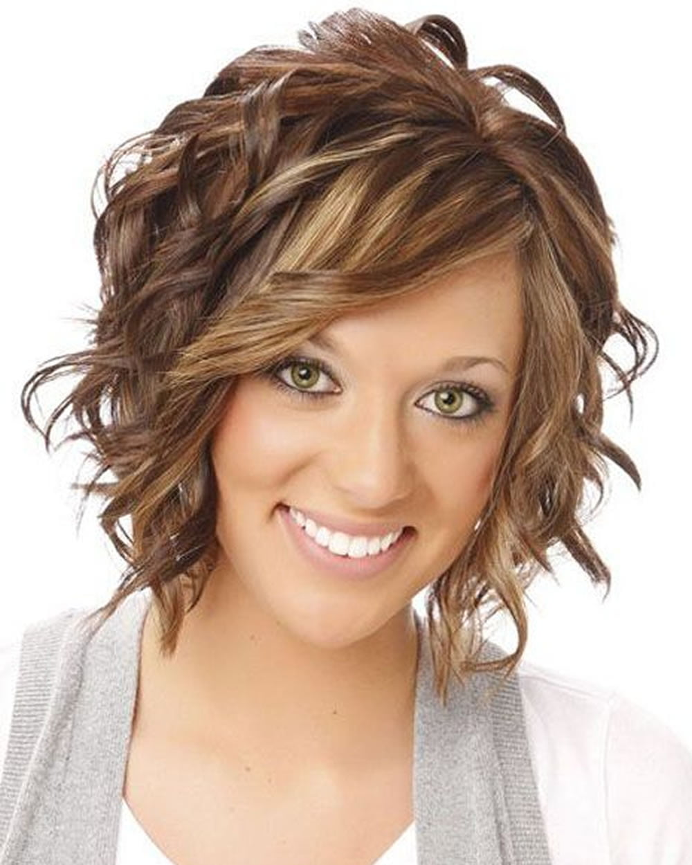 2018 permed hairstyles for short hair – best 32 curly short