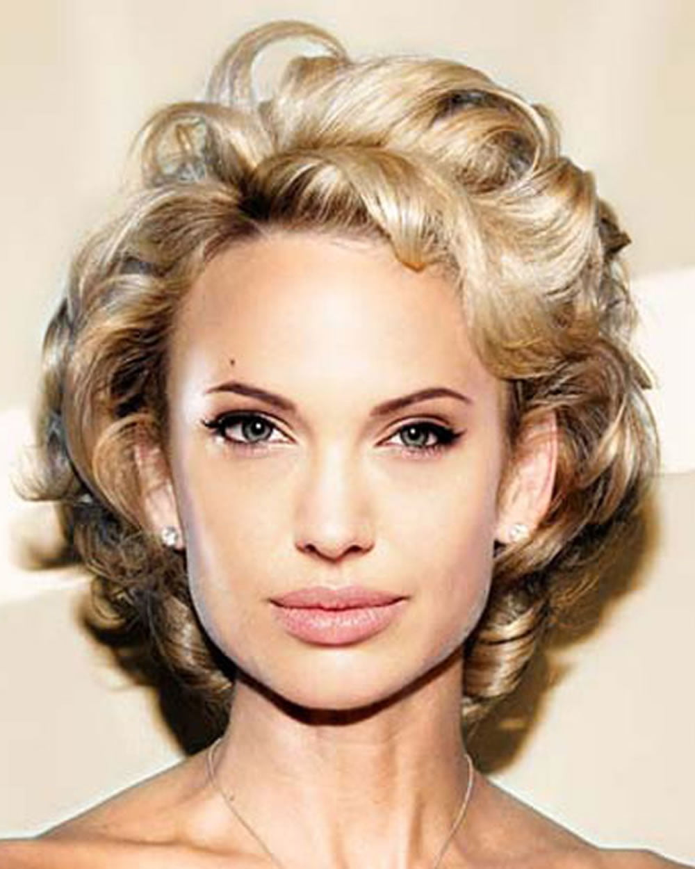 2018 Permed Hairstyles for Short Hair - Curly Short Haircut