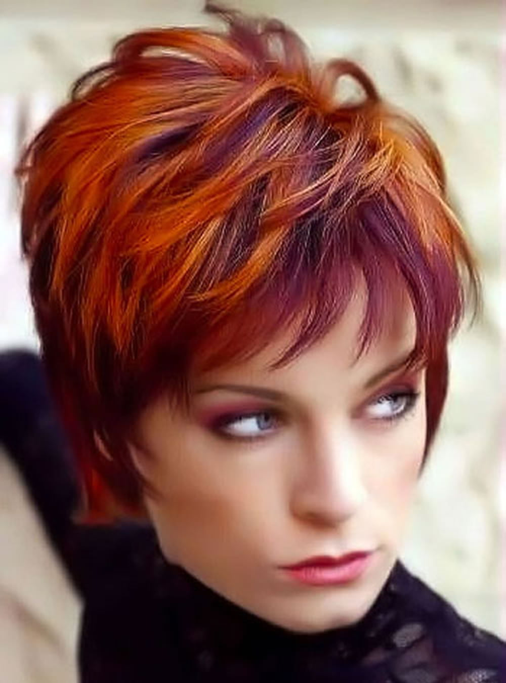 2018 red short hairstyles – top red hair colours – hairstyles