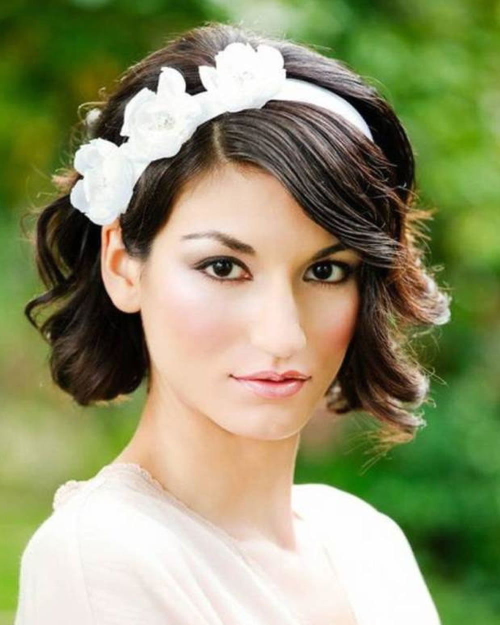 2018 Wedding Hairstyles and Make Up Guide For Short Hair – Page 8 – HAIRSTYLES