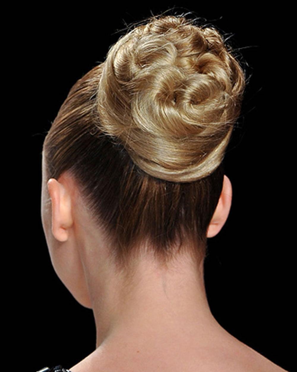 Bun Hair 2018 - Trend Bun Hairstyles in 2017