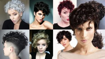 Curly Pixie Haircuts for 2018 & Pixie Short Hairstyle Ideas