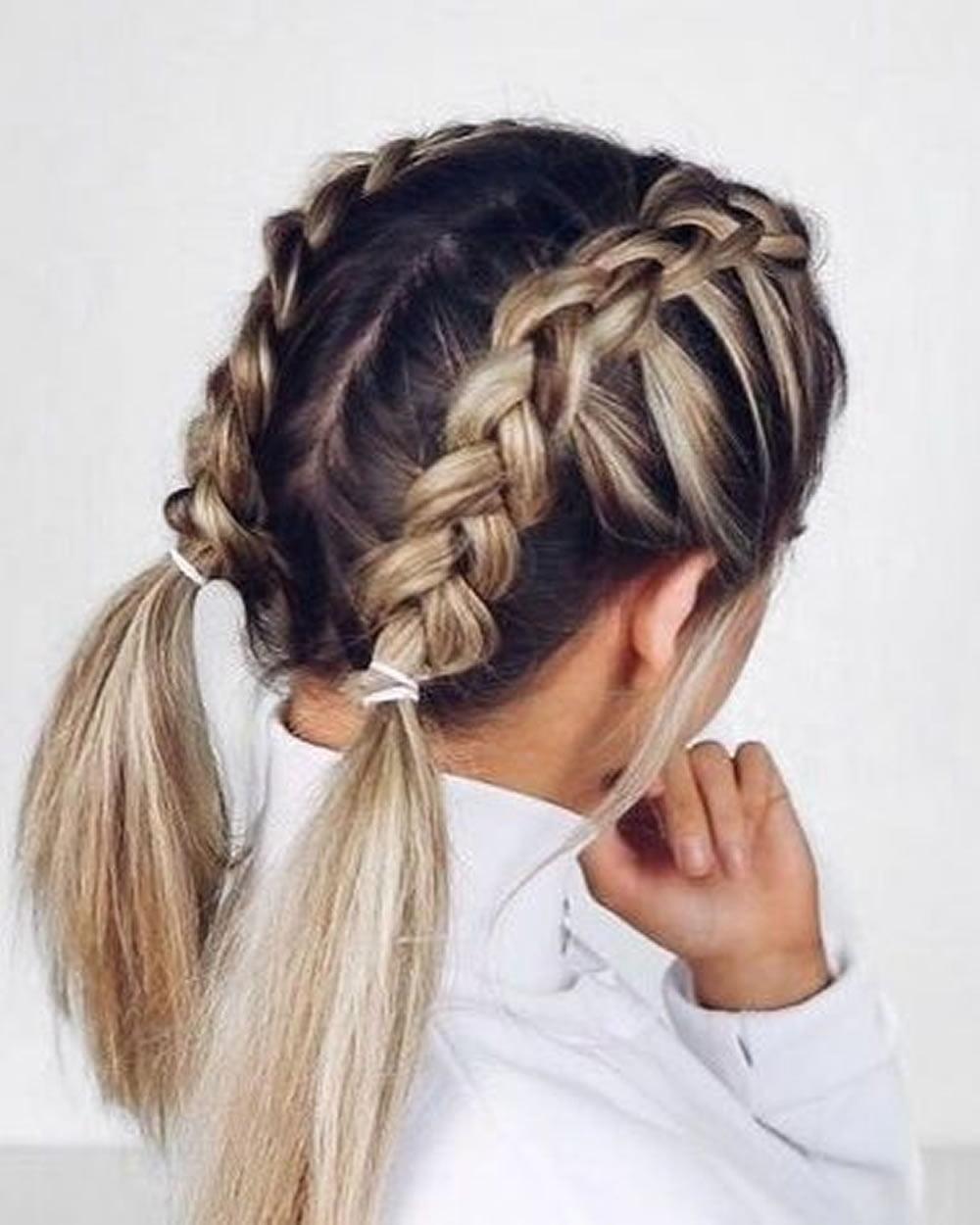 French Braids 2018 (Mermaid, Half-up, Side, Fishtail etc.) - Trend French Braid Hair Ideas ...