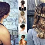 French Braids 2018 (Mermaid, Half-up, Side, Fishtail etc.)- Trend French Braid Hair Ideas