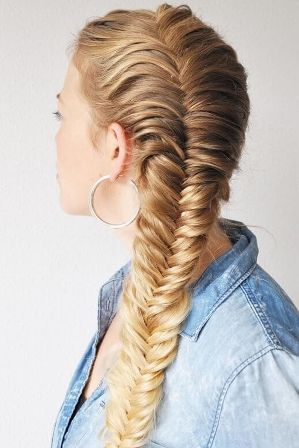 French Braids 2018 Mermaid Half Up Side Fishtail Etc
