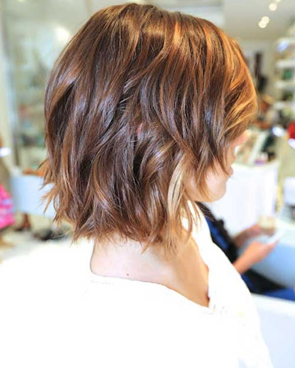 Ombre Colored Short Hairstyles for Summer 2018-2019