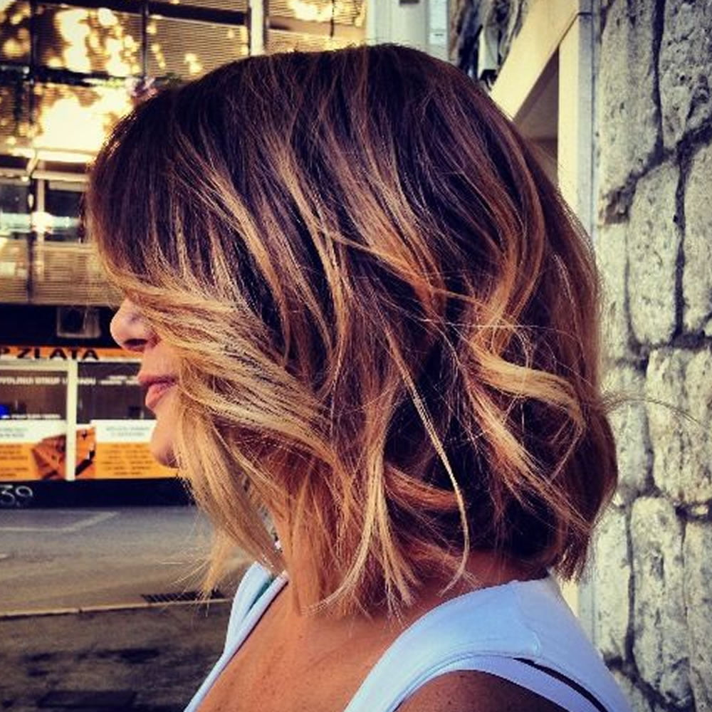 Ombre Colored Short Hairstyles for Summer 2018-2019 – Page 9 ...