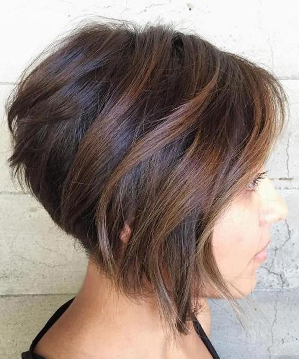 short layered womens haircuts layered hairstyles 2018 for who 2734 | Short Layered Hairstyles 2018 for Women Who Love Short Hair 11 1