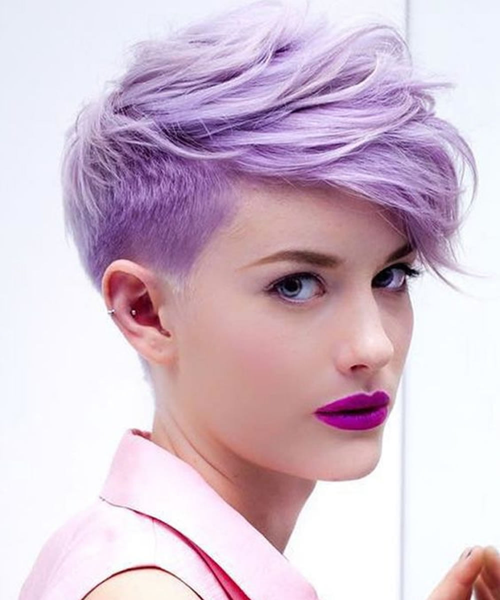 Undercut Short Pixie Hairstyles for Ladies 2018-2019