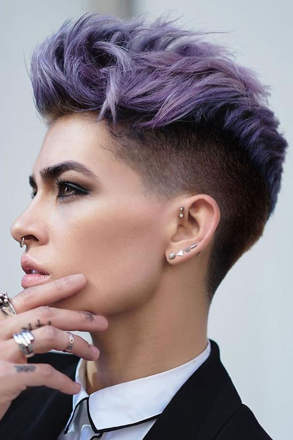 Undercut Short Pixie Hairstyles For Ladies 2018 2019 Page 2