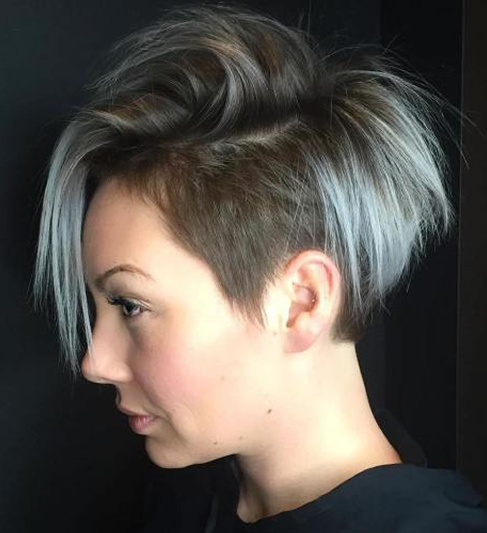 Undercut Short Pixie Hairstyles for Ladies 2018-2019 ...
