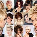 Short Hair Style Ideas for 2018 & Pixie Haircuts & Bob Hair Ideas for Ladies