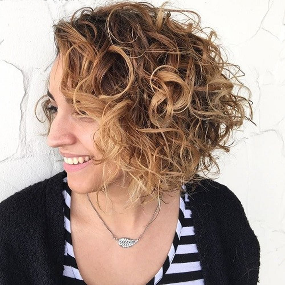 bob styles for curly hair asymmetrical curly hair styles 2018 2019 amp bob 4995