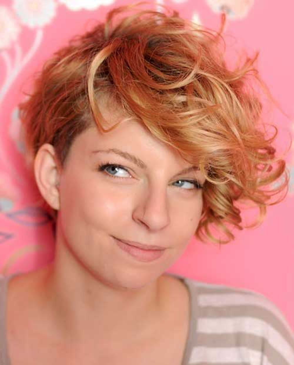 short asymmetrical haircuts for curly hair   4k wallpapers