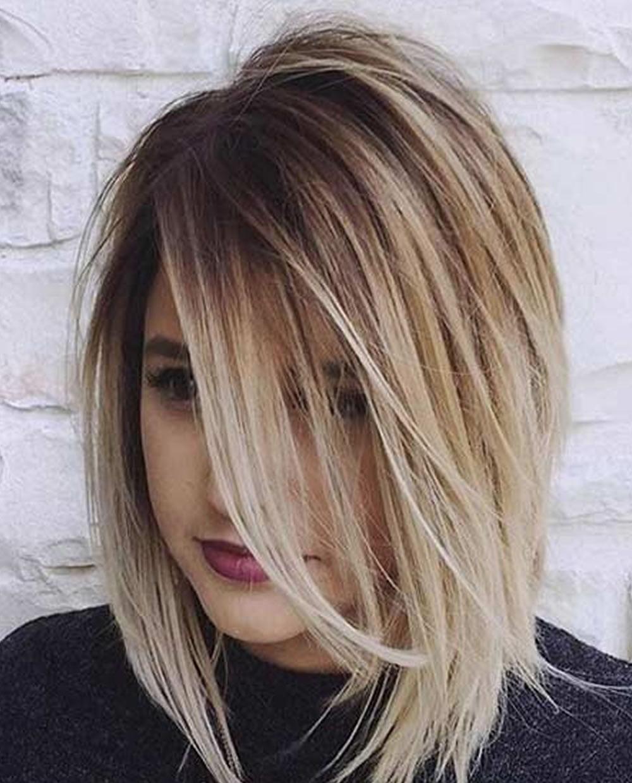 Boob hair styles