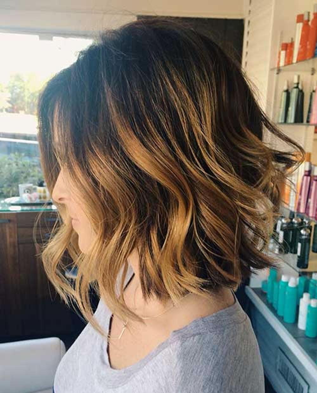 Balayage Short Bob Hairstyles for 2018 & Bob Haircuts & Balayage Bob Hair Ideas