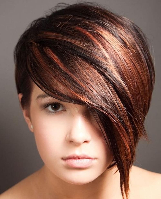 balayage short hairstyles & short haircuts & balayage hair colors