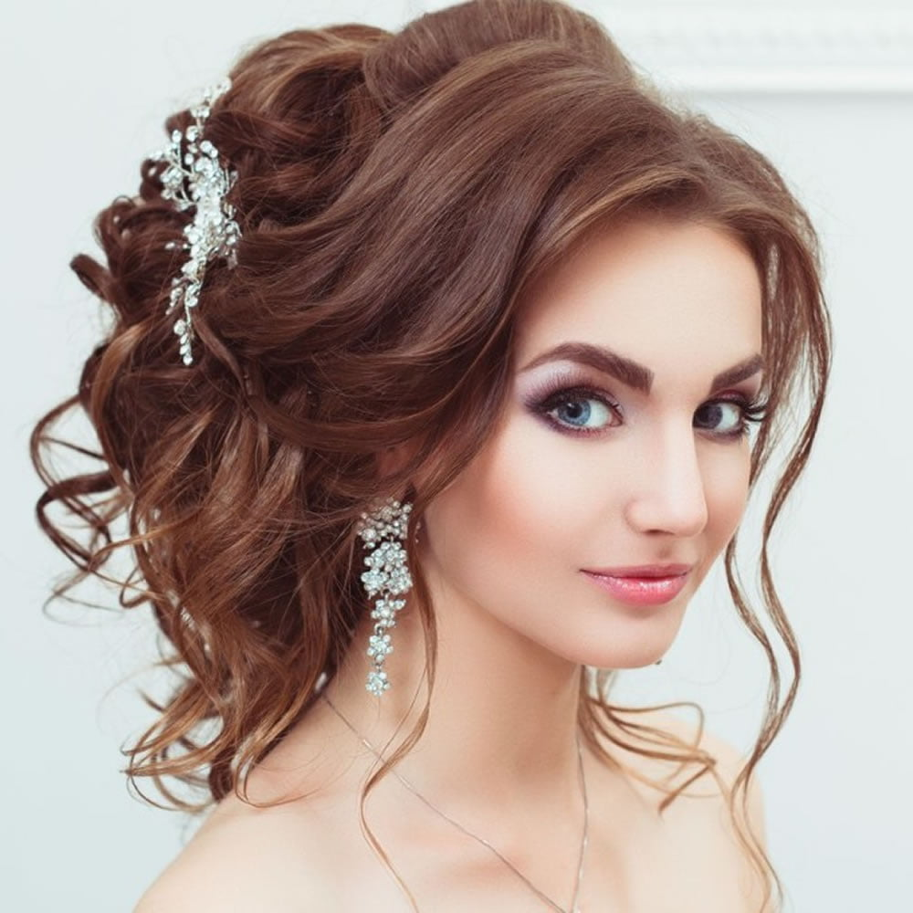 Wedding Party Hairstyle For Thin Hair: Christmas Party Hairstyles For 2018 & Long, Medium Or
