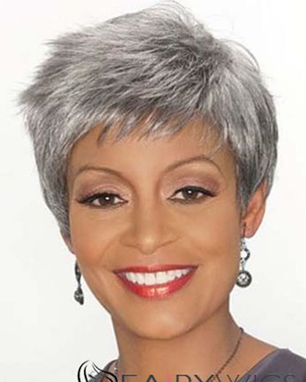 Extra Short Hairstyles Pixie Haircuts For Afro American Older