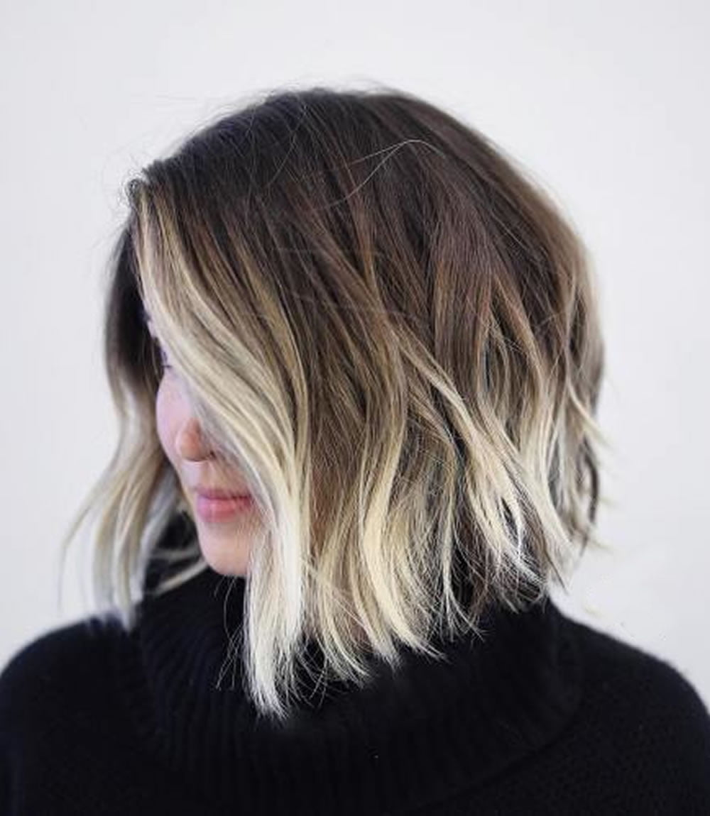 Ombre Short Hairstyles 2018 Trend Ombre Hair Colours Short