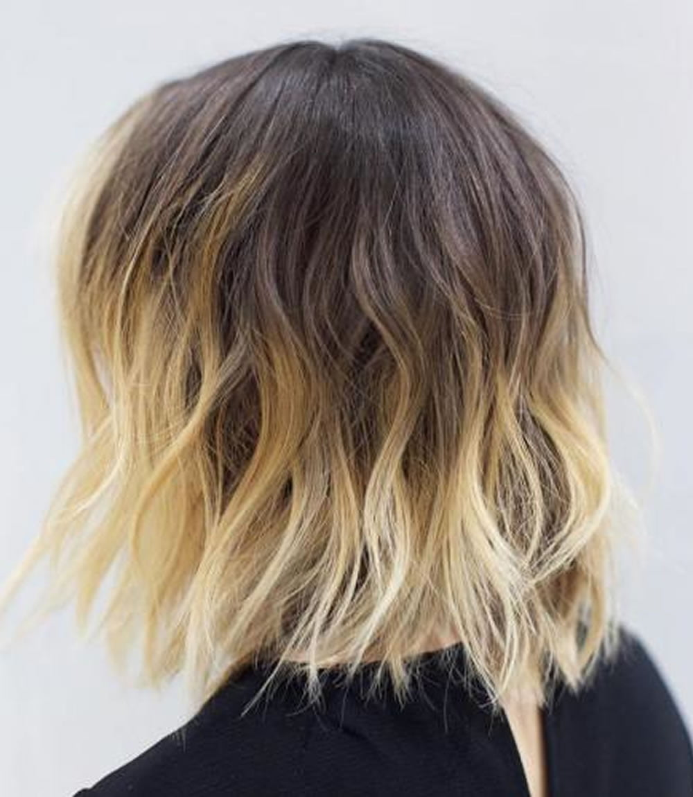 Ombre Short Hairstyles 2018 Trend Ombre Hair Colours Short Haircut
