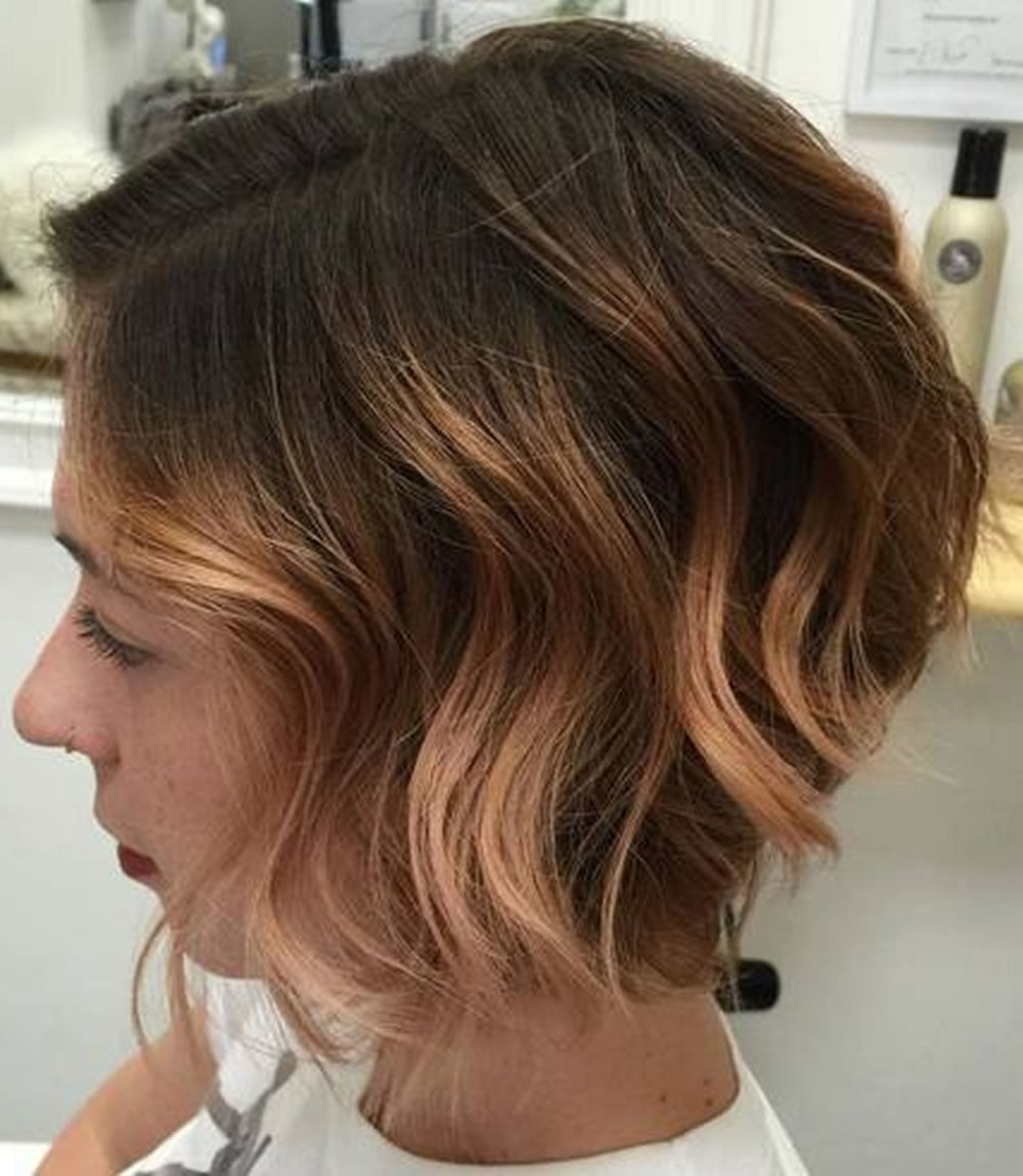 Ombre Short Hairstyles 2018 Trend Hair Colours Haircut Image