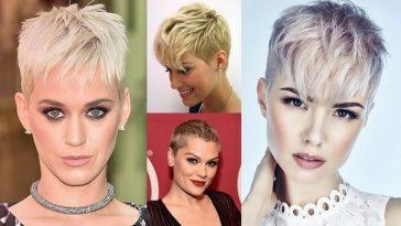 Pixie Hair Cut Styles & Very Short Hair Ideas & Pixie Cut 2018-2019