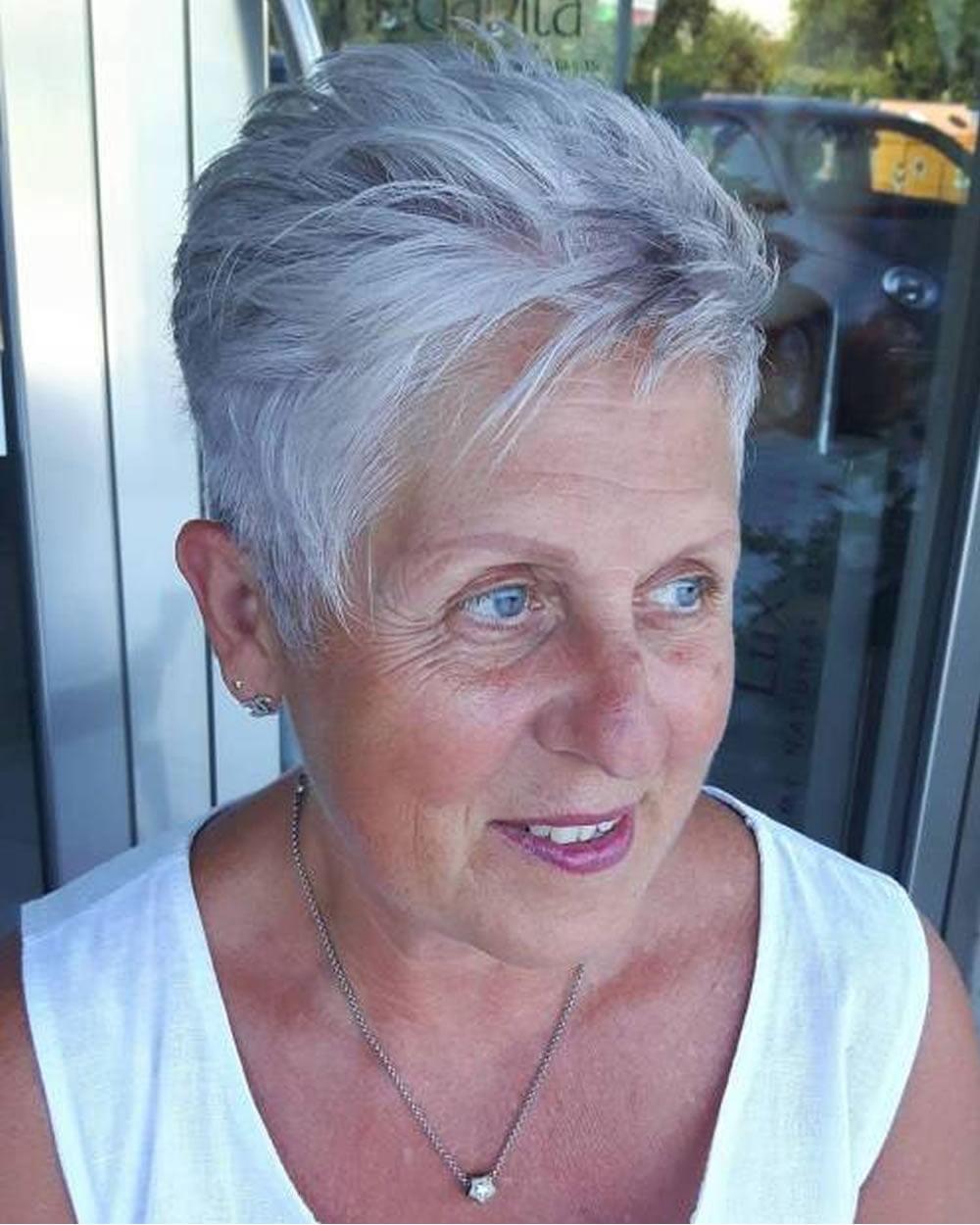 Pixie Short Haircuts For Older Women Over 50 2018 2019 Short